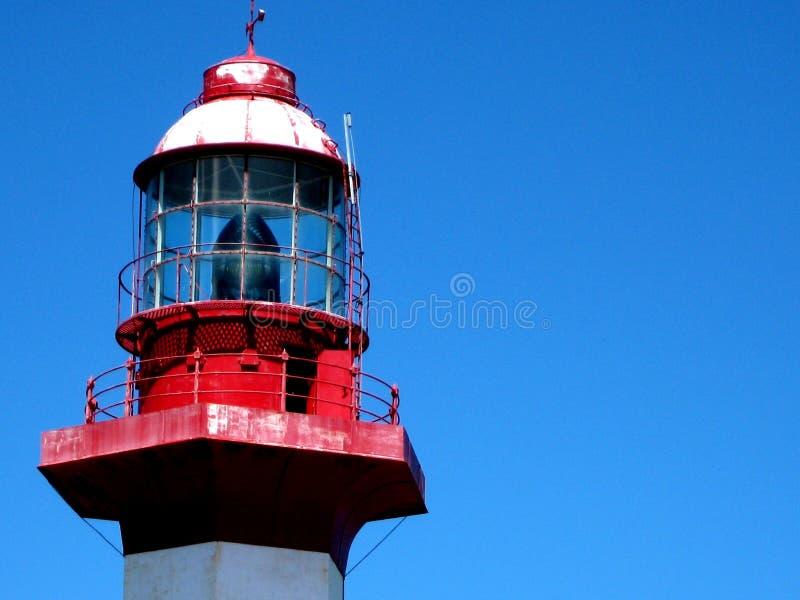 Reflektor na niebieskim niebie fotografia royalty free