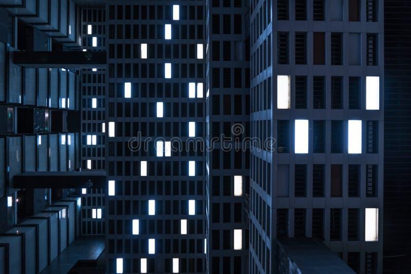 Reflektor w celling Sens fantastyka naukowa film zdjęcia royalty free