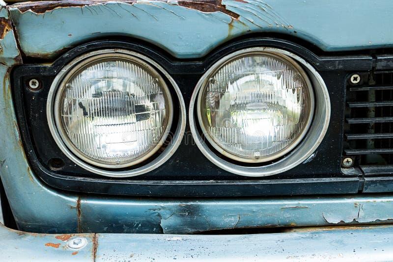 Reflektor stary samochód obrazy stock