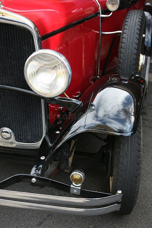 reflektory klasycznych samochodów obrazy stock