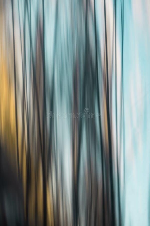 Reflexão abstrata da cor na tubulação de aço inoxidável ilustração do vetor
