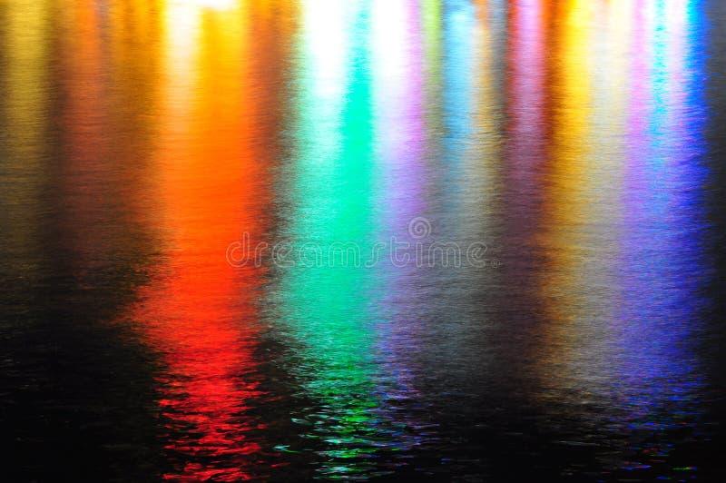 Reflexão bonita da água imagem de stock