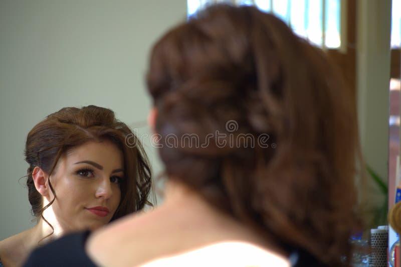 Reflexão de espelho bonita fotografia de stock royalty free