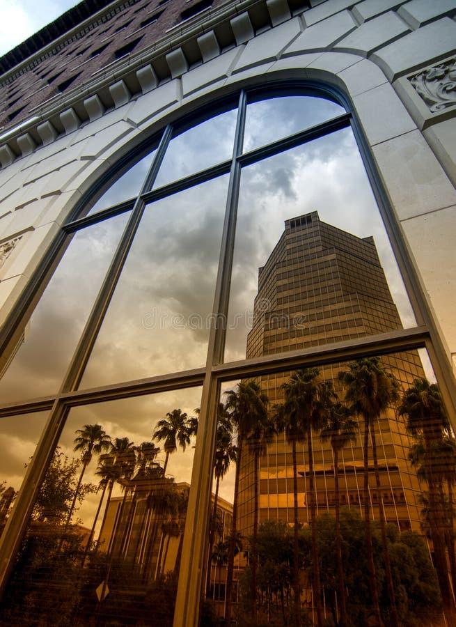 Reflexão de Tucson, o Arizona imagem de stock