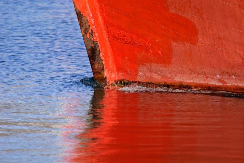 Reflexão do barco foto de stock royalty free