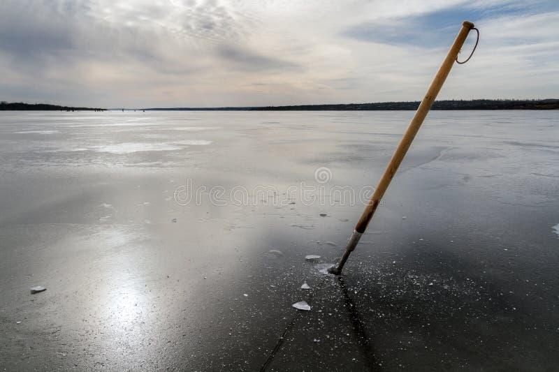 Reflexão do inverno imagens de stock royalty free