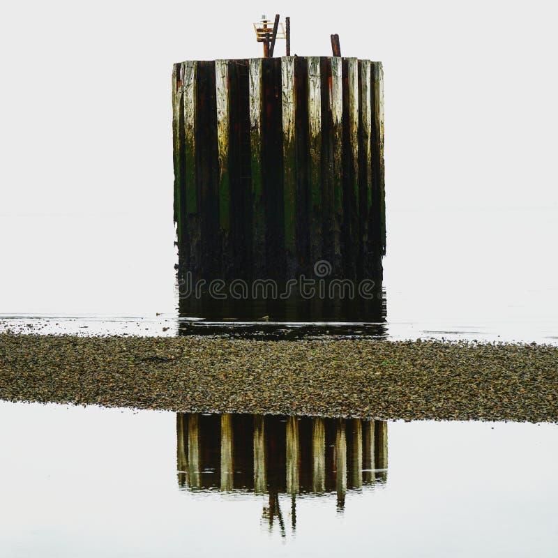 Reflexão do mar fotografia de stock royalty free