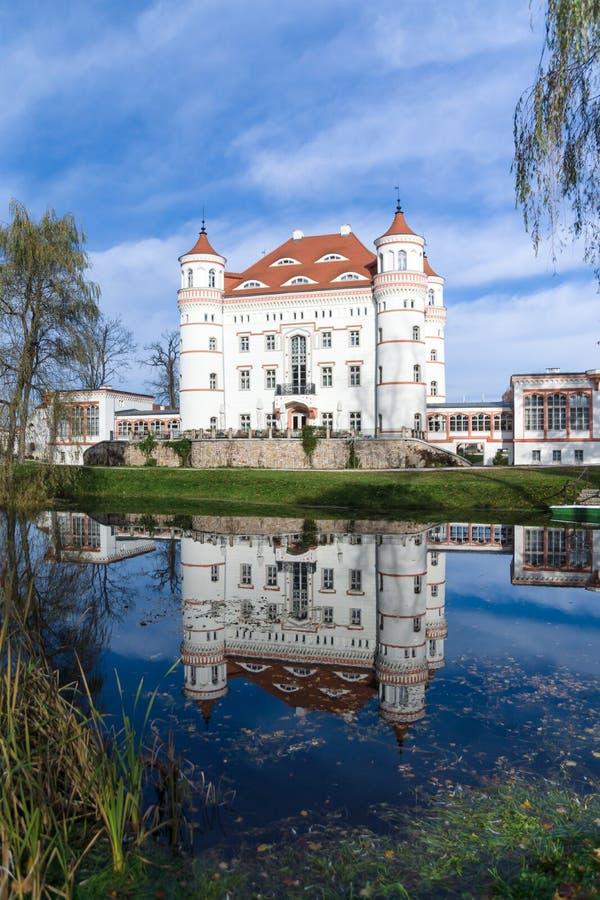 Reflexão do palácio imagens de stock