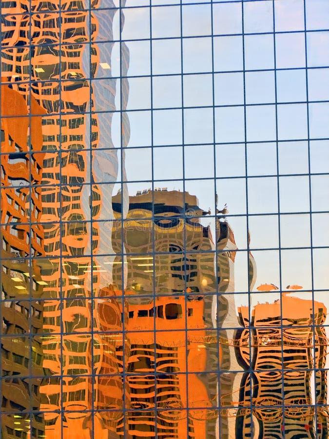 Reflexões 1 da cidade foto de stock royalty free