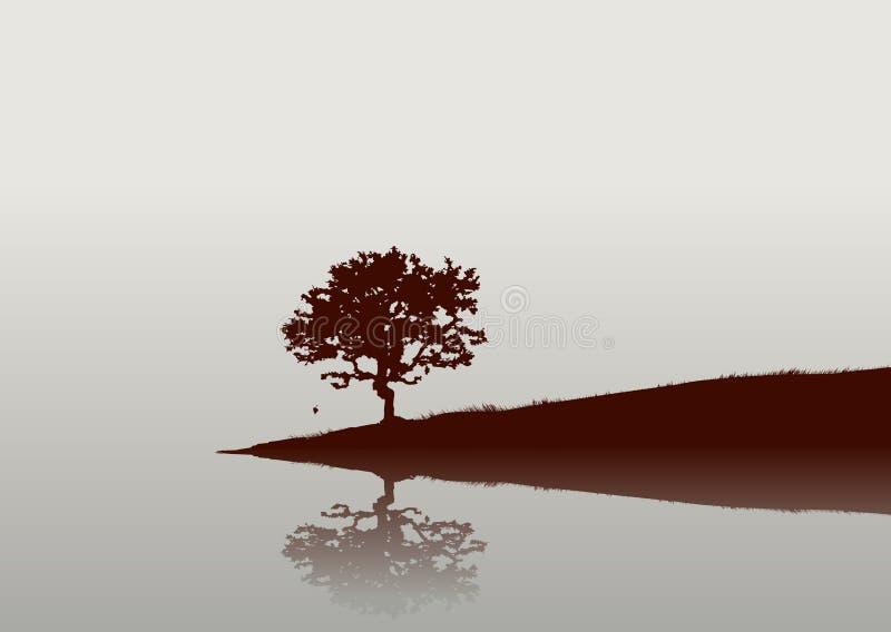 Reflexões ilustração stock