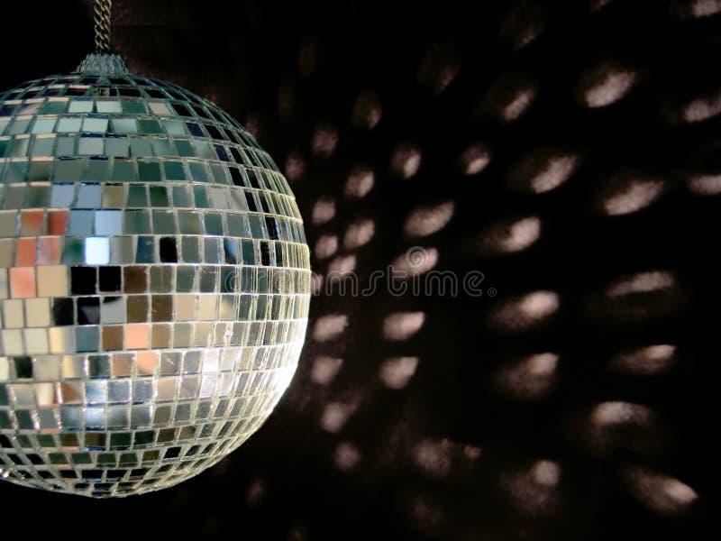 Reflexões da esfera do disco foto de stock