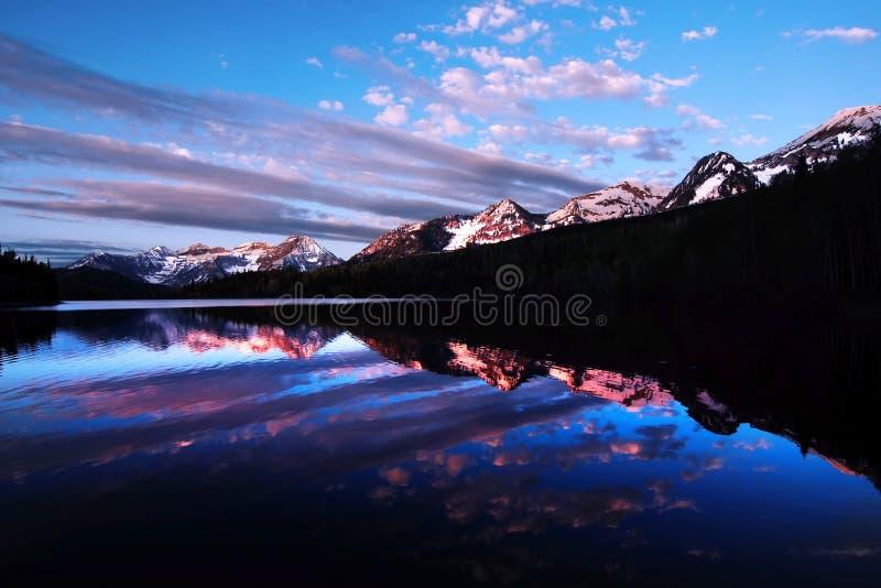 Reflexões da manhã fotografia de stock royalty free