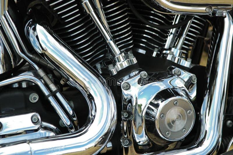Reflexões da motocicleta fotos de stock royalty free
