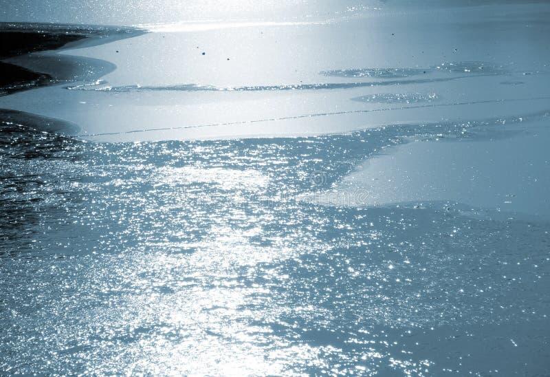 Reflexões do gelo foto de stock royalty free