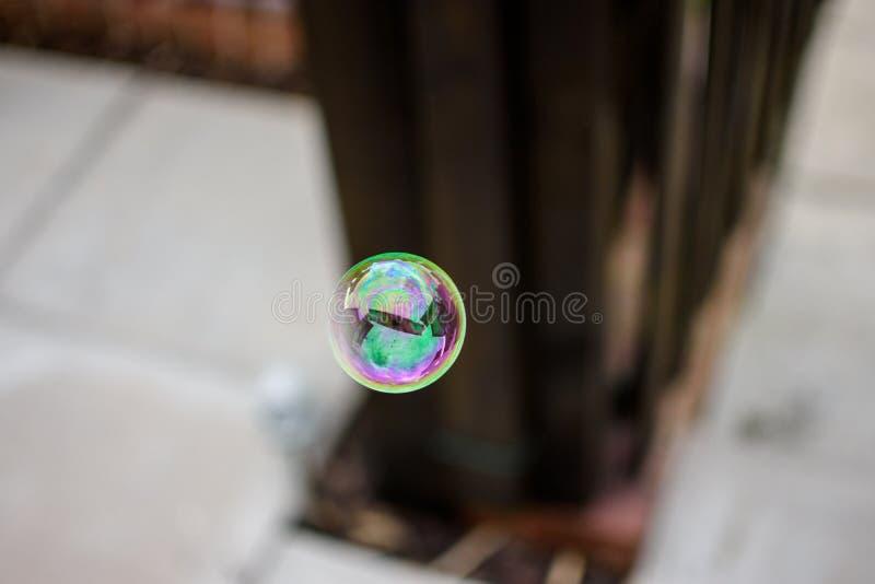 Reflexões na bolha foto de stock