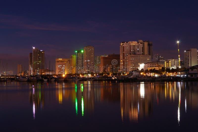 Baía de Manila fotos de stock royalty free