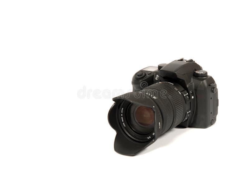 Reflex camera stock afbeelding