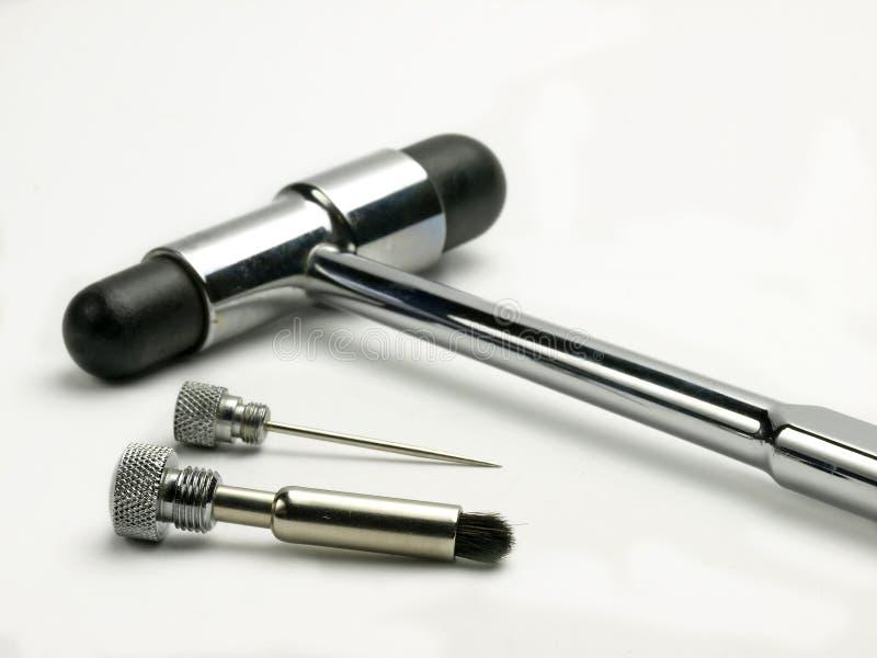 Reflex hamer stock fotografie