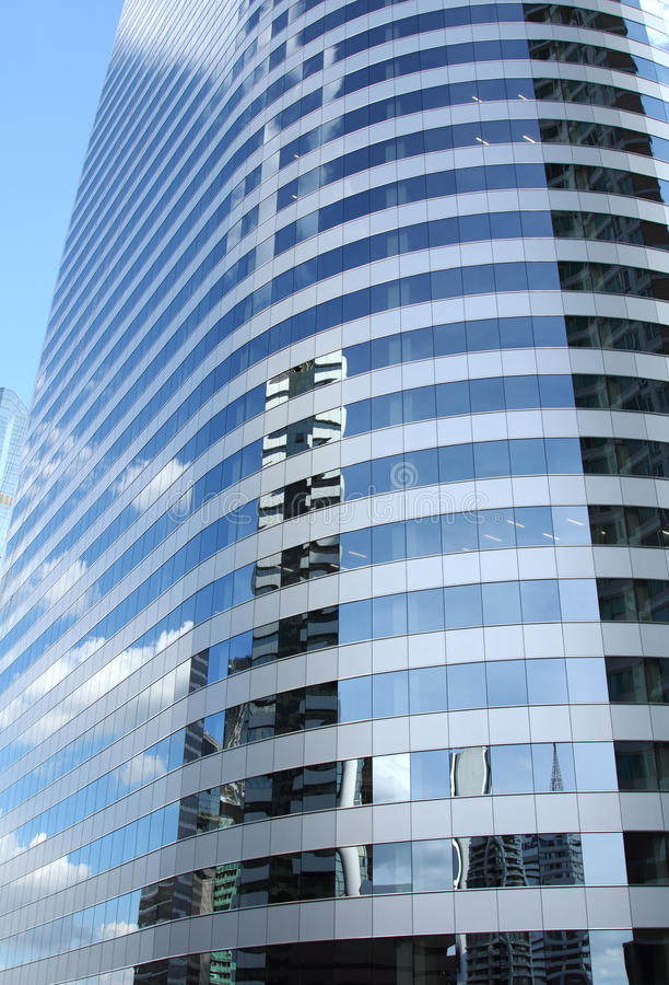 Download Reflex Of Sky On High-rise Building Stock Image - Image: 20886249