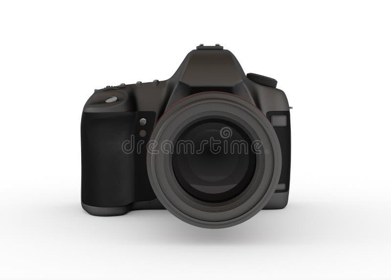 ReflexDigitalkamera, Vorderansicht lizenzfreie abbildung