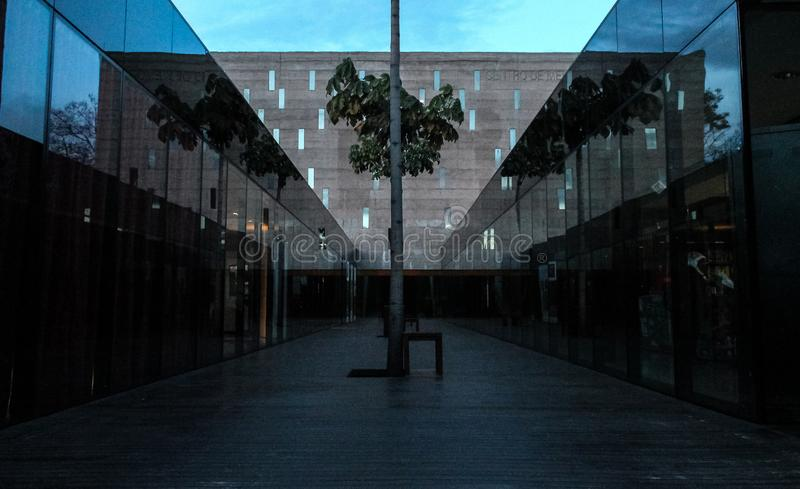 Reflexes of architecture royalty free stock image