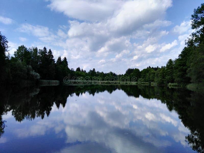 reflexión imagen de archivo libre de regalías
