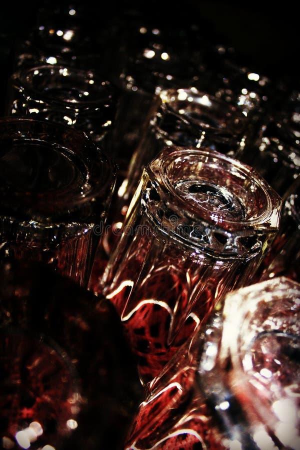 Reflexión, agua, vidrio, fotografía macra fotografía de archivo
