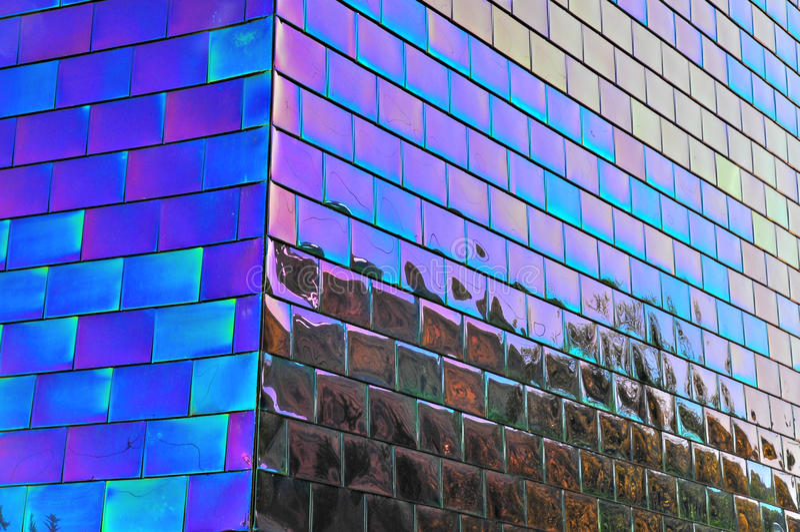 Reflexión azul imagen de archivo libre de regalías