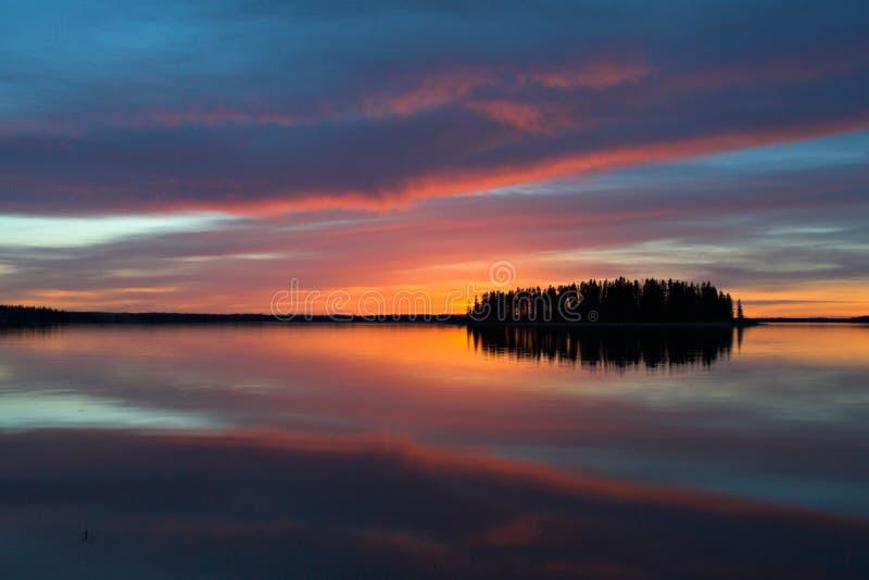 Reflexión colorida fotografía de archivo