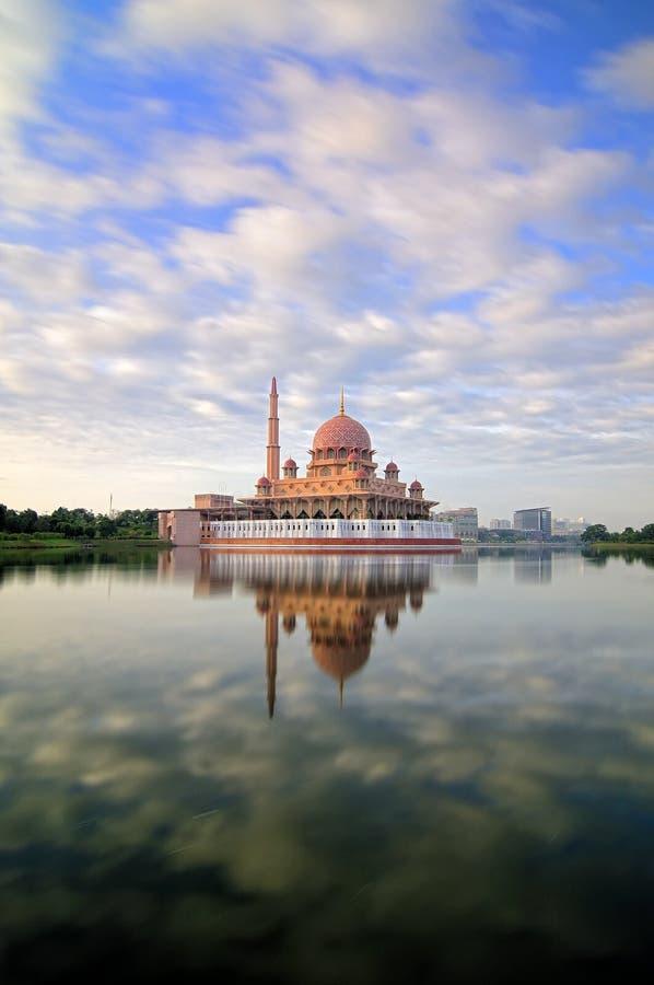Mezquita de Putra imagen de archivo libre de regalías