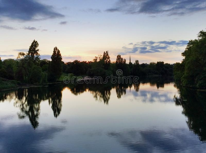 Reflexión de Londres fotos de archivo libres de regalías