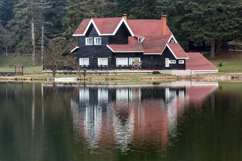 Lago Golcuk imagen de archivo