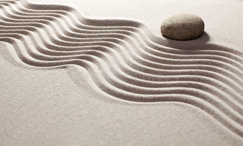 Reflexión para el modo de pensar del zen imagenes de archivo