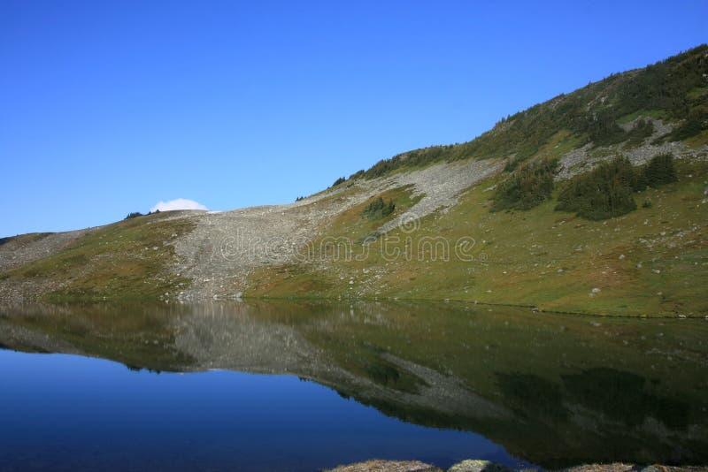 Reflexión pelirroja del lago fotos de archivo libres de regalías