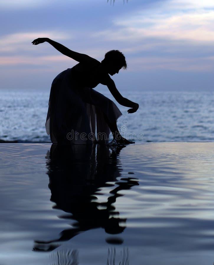 reflexion royaltyfri foto