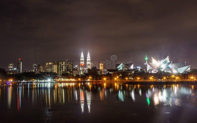 Reflexion av Malaysia arkivbild