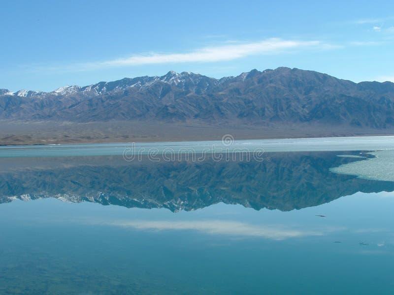Reflexion im Wasser stockfotografie