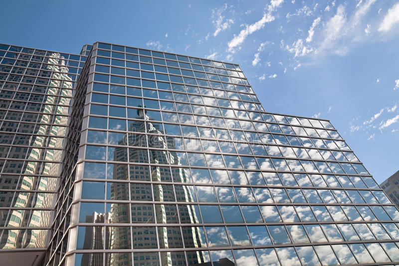 Reflexion von Toronto. stockfoto