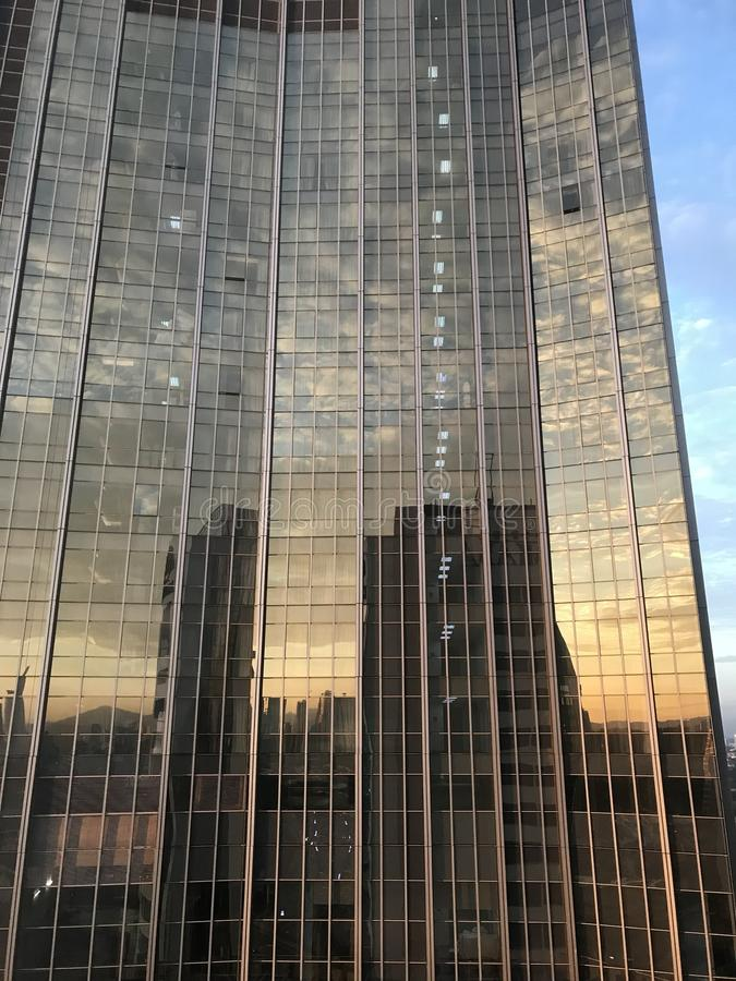 Reflexionen stockfotografie
