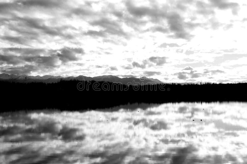Reflexionen stockbild
