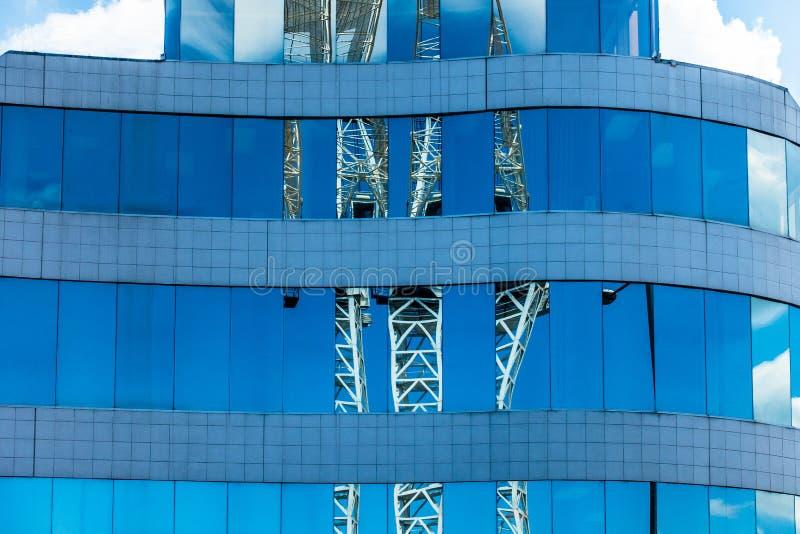 Reflexionen im Fenster lizenzfreie stockfotografie