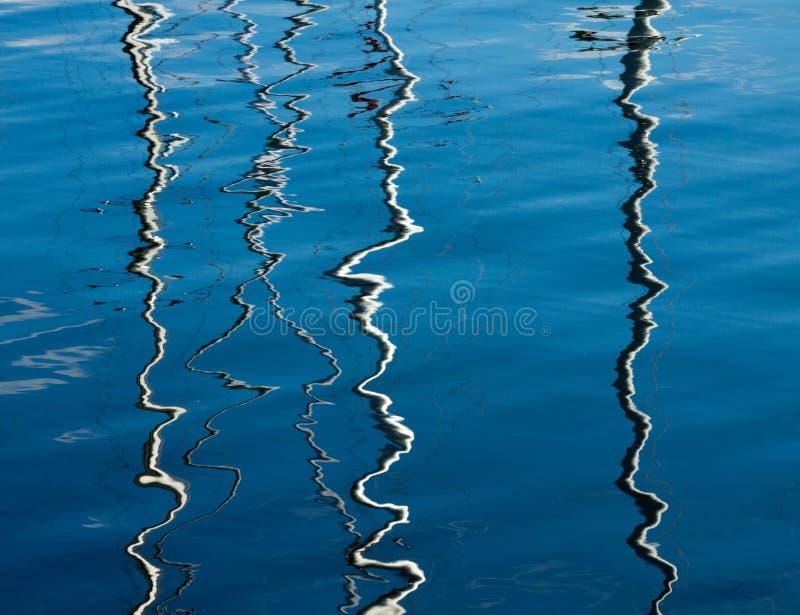 Reflexiones abstractas 2 fotografía de archivo