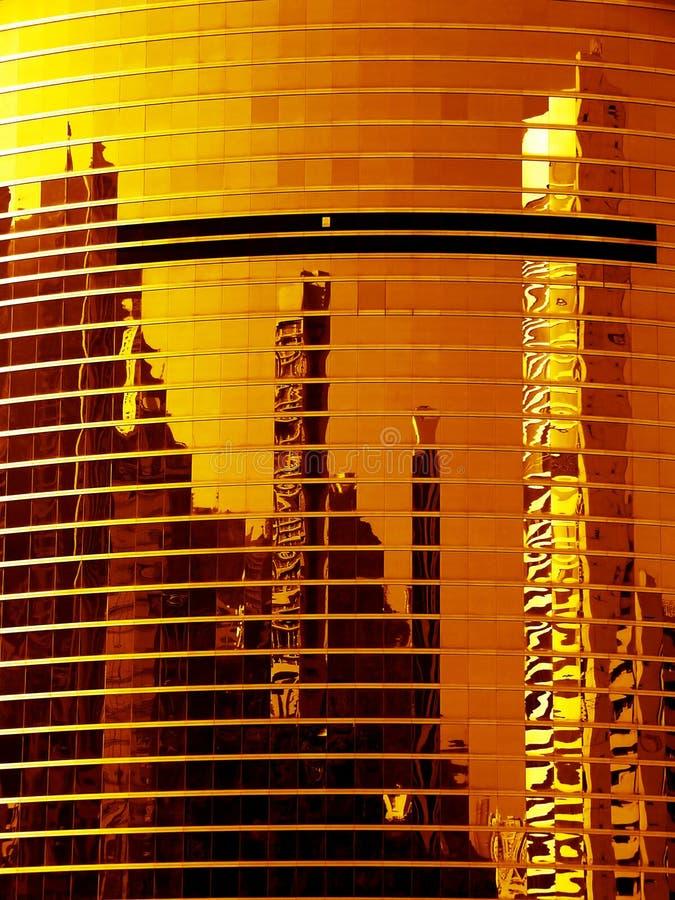 Reflexiones arquitectónicas foto de archivo libre de regalías