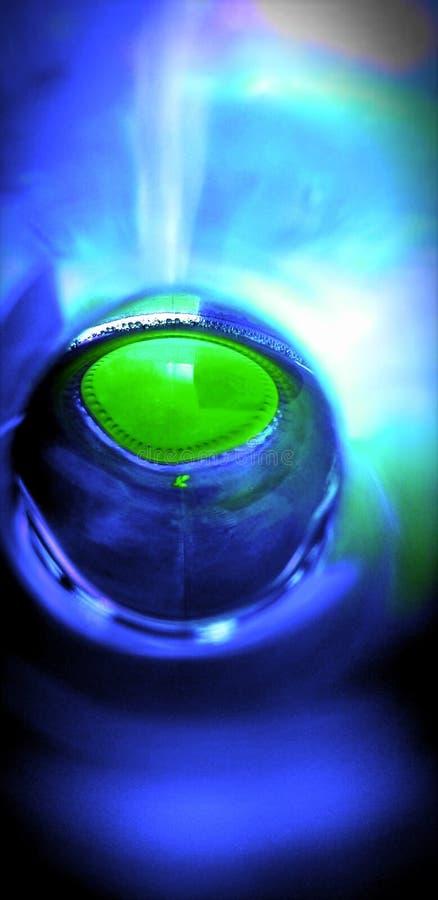 Reflexiones azules imagen de archivo