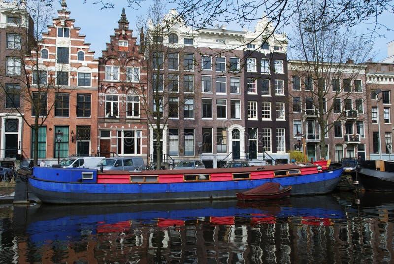 Reflexiones de Amsterdam fotos de archivo libres de regalías