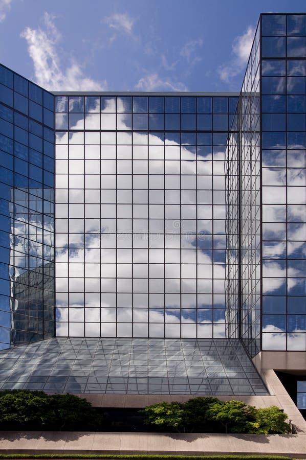 Reflexiones de cristal fotos de archivo libres de regalías