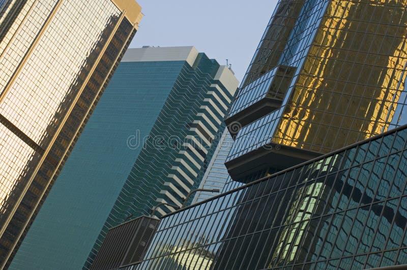 Reflexiones de Hong-Kong fotografía de archivo
