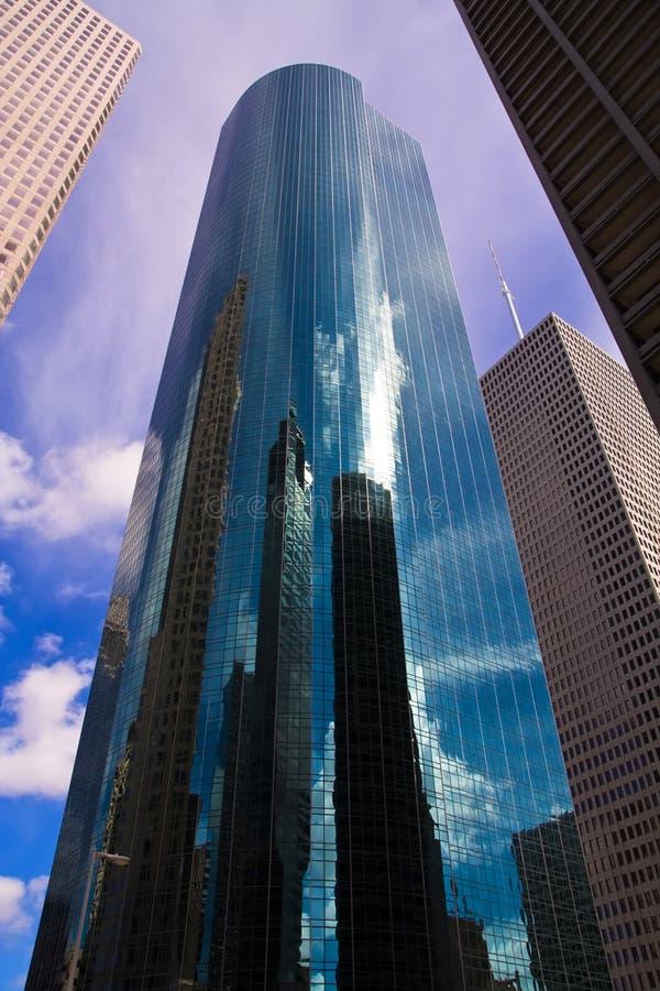 Reflexiones de Houston imágenes de archivo libres de regalías