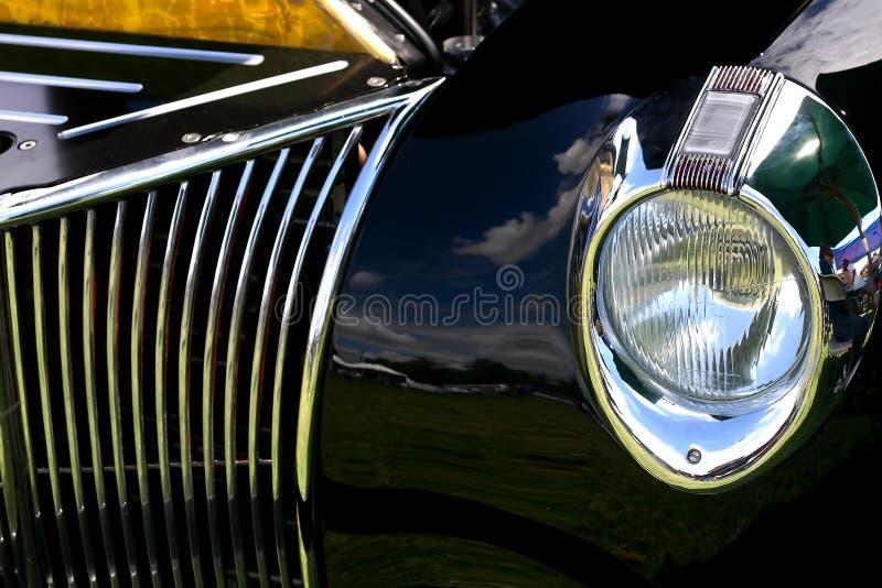 Reflexiones de la demostración de coche foto de archivo libre de regalías
