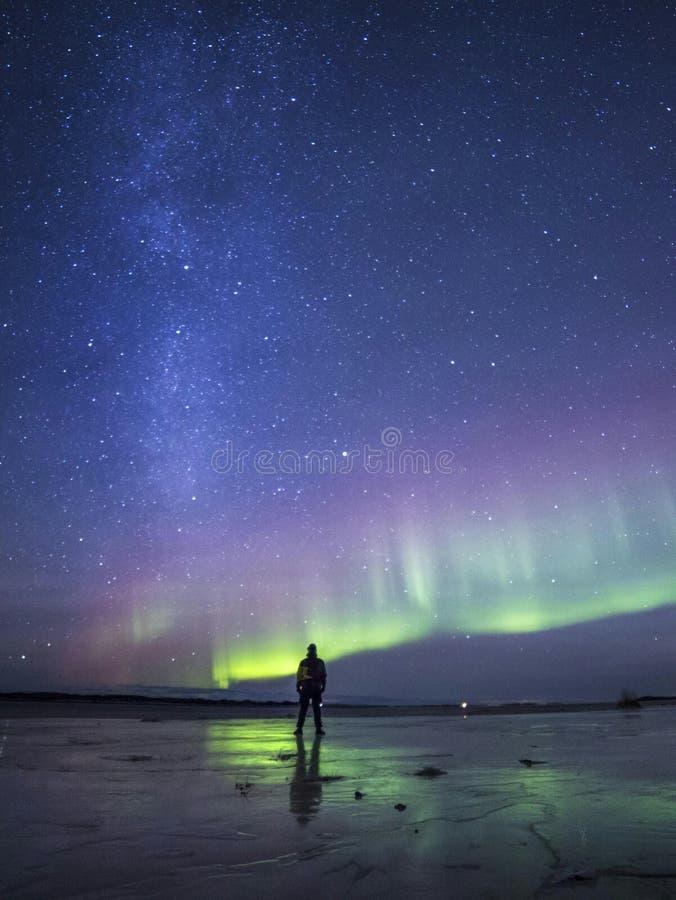 Reflexiones de la luz verde foto de archivo libre de regalías